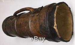 Rare British RCD Royal Carriage Department Leather Shell Carrier Military 27