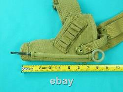 Rare Canadian WW2 1940 Dated Z L & T Tanker Revolver Gun Holster Cleaning Rod