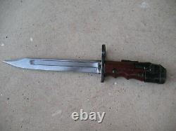 Rare Enfield No7 bayonet for No4