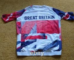 Rare Genuine Team Issue Great Britain Cycling Race Fit Jersey Tokyo Olympics