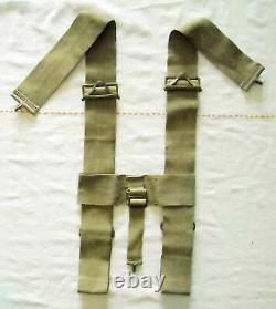 Rare Great Coat Carrier for the Patt. 1903 Bandolier Equipment, dated 1906