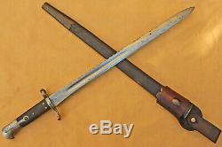 Rare NEW ZEALAND Pattern 1875 SNIDER Carbine SAWBACK Rifle SWORD Skinnerton N1#2