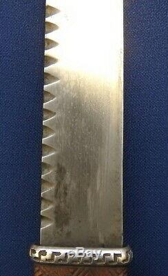 Rare One Of A Kind Great War Regimental Scottish Sgean Dubh Dirk Dagger Knife
