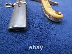 Rare Original British High Rank Officer`s Sword And Scabbard Made By Wilkinson
