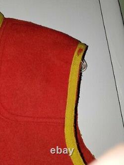 Rare Original Pre-1914 Ww I Nigeria Regiment Woolen Vest West Africa Colonial
