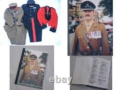 Rare Original SAS Staffordshire Regiment No 1 Four Pocket Dress Full Uniform