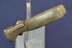 Rare Pattern British WW1 combat knife dagger by a Sheffield maker