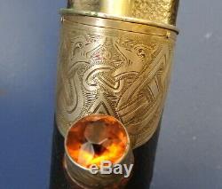 Rare Scottish Traditional Dirk For A Boy Scotland Dagger By Glasgow Maker