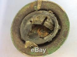 Rare Suffolk & Ipswich Fire Service World War British Metal helmet