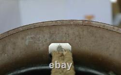 Rare Unusual British Wwii Helmet Mark 1 Star