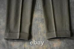 Rare Vintage British Army Officer Trousers WW2 Era Pattern Made by Edgard & Sons