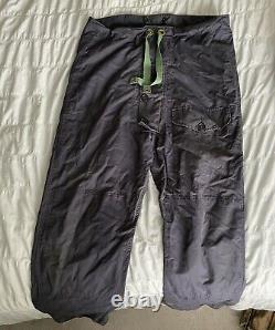 Rare Vintage Royal Navy Ventile Windproof Smock And Trousers