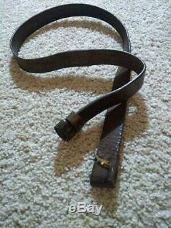 Rare WW1 SMLE Cole Bros 1916 dated Lee Enfield leather British Rifle Sling