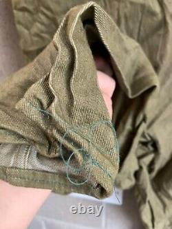 Rare WW2 British Army Suit Converted To Tank Suit 1943 Dated Great Condition