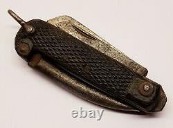 Rare WW2 British Navy Army Jack Knife Taylor Eye Witness Sheffield England 1944