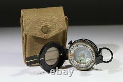 Rare WW2 compass by EAC 1943 MK3 case