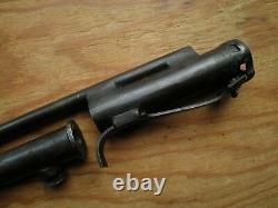 Rare WWII British MKI spike bayonet with scabbard for MKII Sten