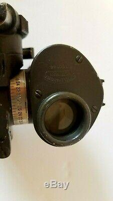 Rare WWII British Royal Air Force Bomb Sight (Spindler & Hoyer 1940 5x25 NR999)