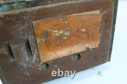 Rare World War One WW1 GPO Portable Field Telephone Mark 235 No92 1917