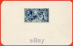 SG. 401. N66 variety. 5/- DIE PROOF. A very fine example of this RARE proof