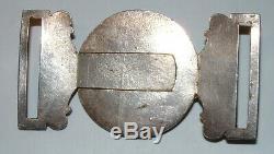Sixth West York Militia Rare Officers Waist Belt Clasp