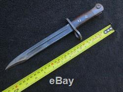 Super Rare Ww2 British Jungle Carbine Bayonet And Scabbard Made By Ishapore Rfi