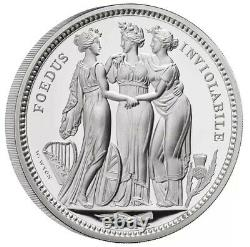 THREE GRACES 2020 UK TEN OUNCE SILVER PROOF COIN VERY RARE PROOF COIN 10 oz