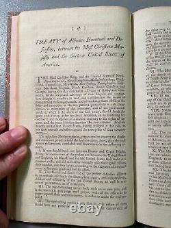 Treaty Between Great Britain United States John Jay 1795 Rare Fine Binding VG