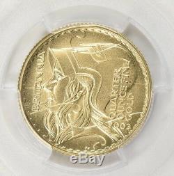 Ultra Rare Great Britain 2003 Gold 25 Pound Britannia Pcgs Pr-69 Dcam