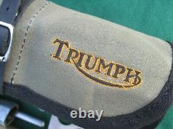 Ultra Rare Triumph Motorcycle 350 500 650 Original Toolkit, Tyre Pump & Maps
