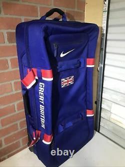 Used Nike Great Britain FiftyOne49 Cordura Suitcase Luggage Bag Large PE Rare