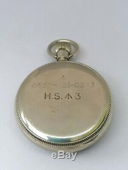 V. Rare Set of WW2 Royal Navy Medals + His Still Working Zenith 1943 Deck-Watch