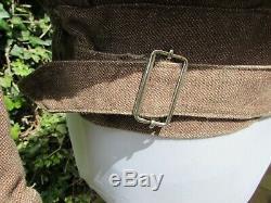 VERY rare, original early WW2 British Army issue, brown denim battledress blouse