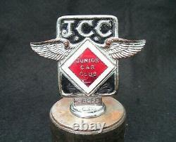 VINTAGE 1930s JUNIOR CAR CLUB MOTOR BAR BADGE-PRE-WAR JCC BROOKLANDS RACING RARE