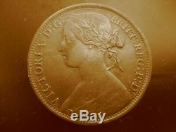 Very Rare 1861, 6 over 8, Victoria Penny from Great Britain, only 8 known, F30