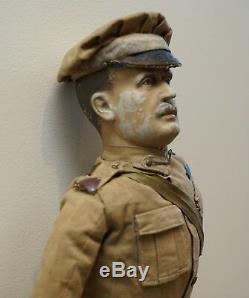 Very Rare 1898-1914 British Patriotic Propaganda Doll Of Lord Horatio Kitchener