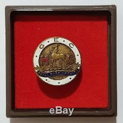 Very Rare WWII Great Britain Home Guard Royal Warwickshire badge