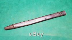 Very rare scabbard 1st type bayonet Enfield 1907 quillon