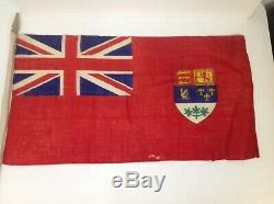 Vintage Flags Rare Attic Find Great Britain Royals Queen Theatre Props Decorator