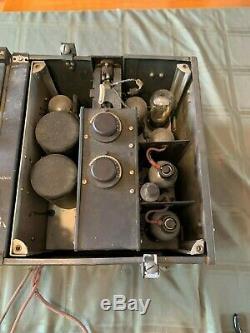 Vintage Rare WWII SPITFIRE Transmitter Receiver T. R. 9D HAM RADIO 1940's