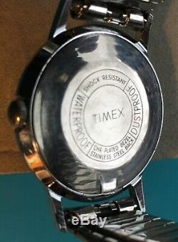 Vintage Timex- 1965 Marlin-RARE no-seconds version-Great Britain-serviced