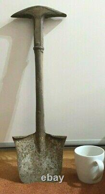 WW1, WW2, British Rare 1883 Wallace Patent Entrenching Tool and Pioneer Spade