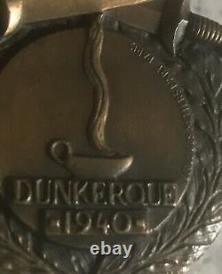 WW2 1940 Dunkirk Medal Rare original French Dunkirk Town issue