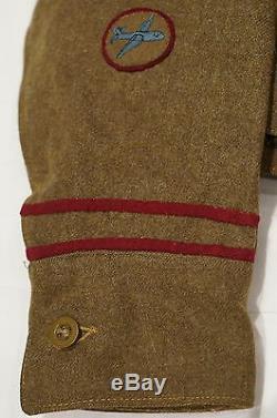 WW2 British 224th Parachute Field Ambulance Battle Dress Uniform RARE