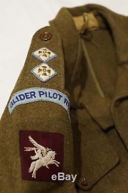 WW2 British RAF Glider Pilot Regiment Battle Dress RARE