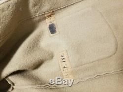 WW2 British Royal Navy Duffle Coat Vintage Rare size medium-large