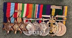 WW2 Medal Group Lieutenant Colonel Berkshire Regiment Rare Triple Long Servic