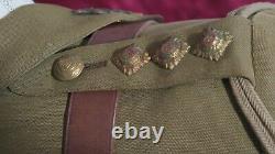 WW2 SOE Instructor Uniform FORCE 136 VERY RARE Jacket, Belts, Holster WWII