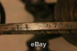 WW2 WW1 British Vickers tripod original paint Brass mount and tripod RARE