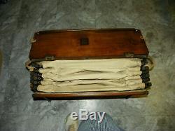 WWI British Officer's Campaign Cabinetta Field Cot & Desk Fine Condition Rare